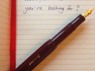 kaweco fountain pen review pen heaven