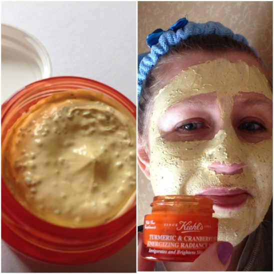 Kiehl's Turmeric & Cranberry Seed mask