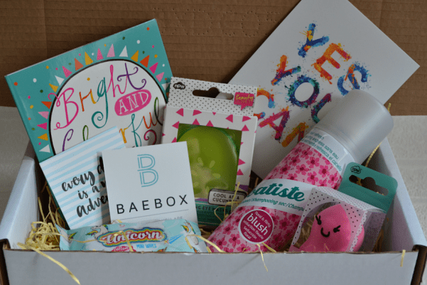baebox for teens sample box