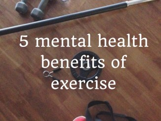 mental health benefits of exercise