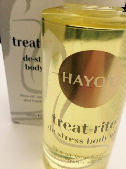 hayou method luxury body oil