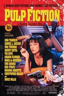 Pulp Fiction nail polish Chanel Rouge Noir Uma Thurman