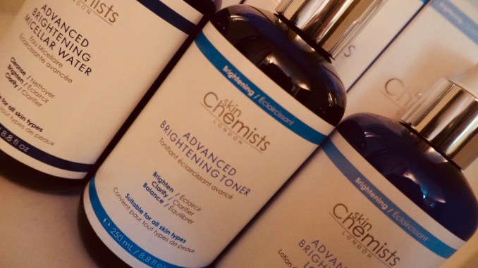 brightening skincare from skin chemists