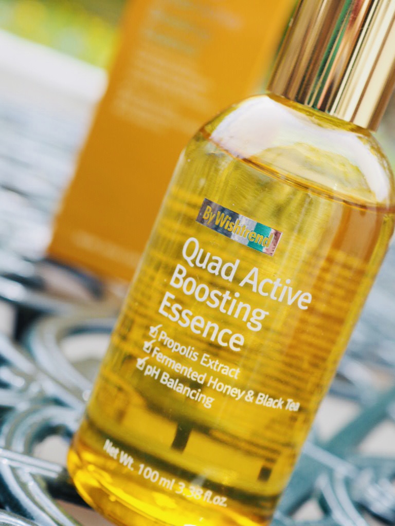 quad active boosting essence by Wishtrend Korean skincare