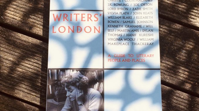 Writers' London book