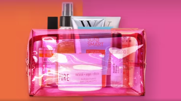 marks and spencer summer beauty bag 2020 whats inside