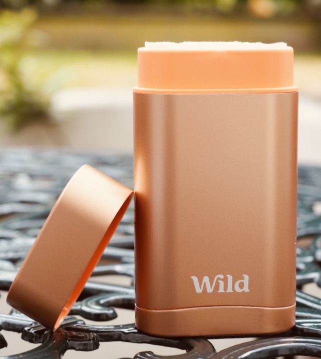 Natural deodorant by Wild