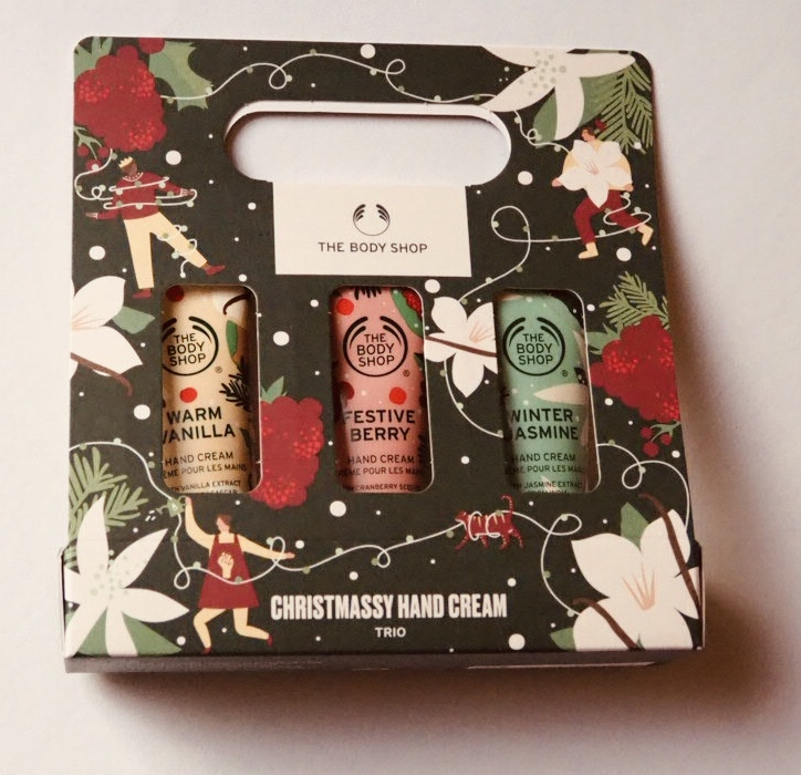The Body Shop Christmas 2020 Christmassy Hand Cream trio