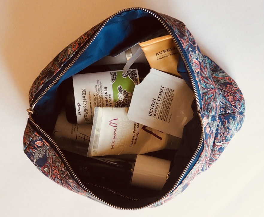 April empties bag - used up beauty products