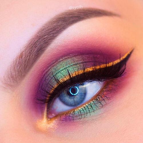 ombre 3 colori