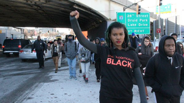 BlackLivesMatter Activism Tweets 12.17