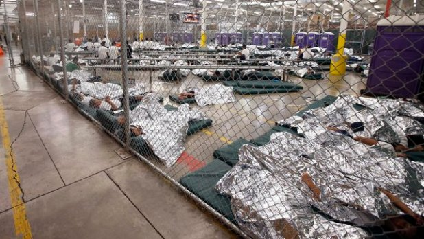 No child should be held in detention. No human being is illegal.