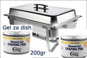 Gel Gorilni 200gr za Chafing Dish