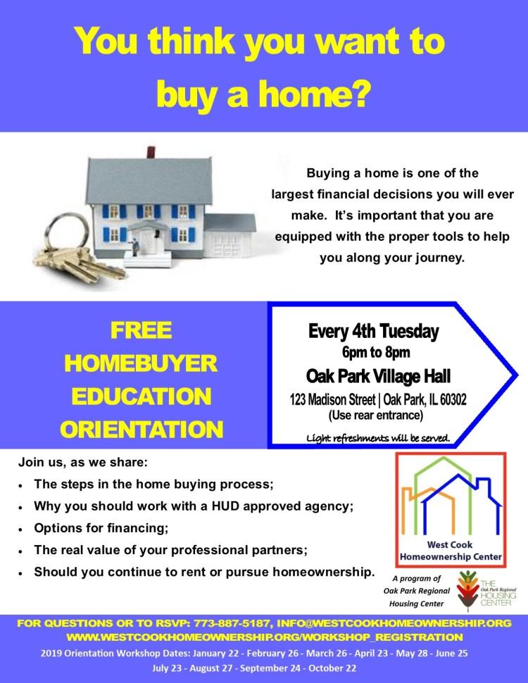 homebuyer education orientation