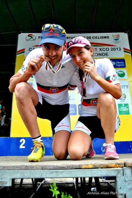 Joana Monteiro Campeã Nacional XCO Sub 23 2013