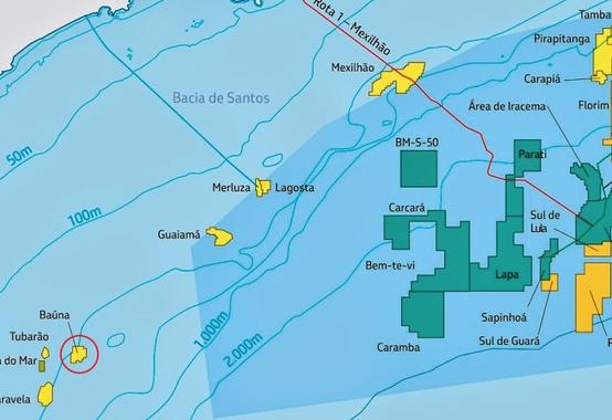 Resultado de imagem para Cessão de direitos do campo de Baúna, na Bacia de Santos: Início da fase vinculante