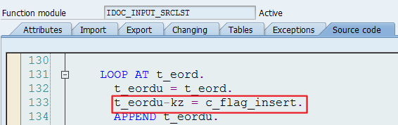 ABAP – How to create/modify Source lists   Spider's web