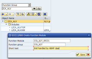 Function group and FM creation