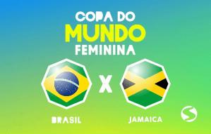 Brasil x Jamaica ao vivo
