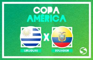 Uruguai x Equador ao vivo