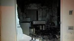 incêndio em Mirassol
