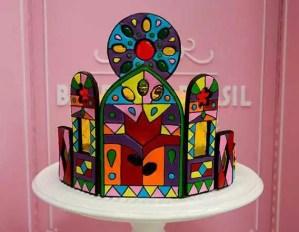 Torta Vitral