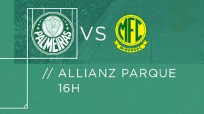 Palmeiras x Mirassol ao vivo