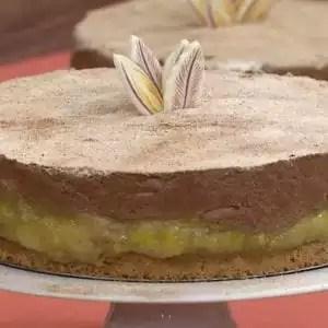Torta Mousse com Banana