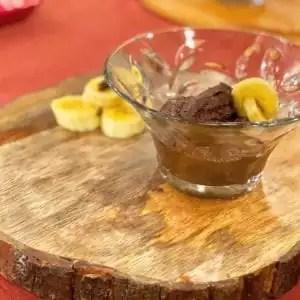 Doce de Casca de Banana com Chocolate