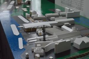 Het hoogtepunt is de maquette van de Boelwerf