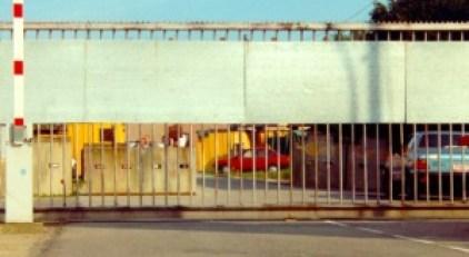 Definitief gesloten poort Boelwerf 1994, Cauwerburg, Temse
