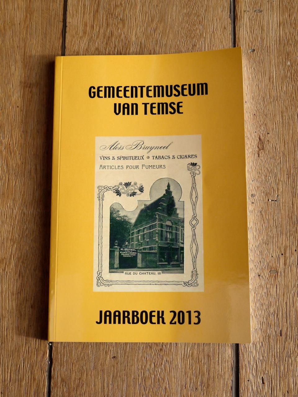 Jaarboek, 2013 gemeentemuseum Temse