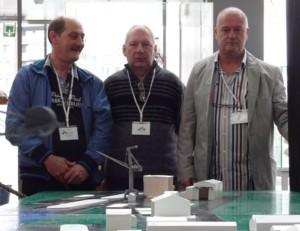 v.l.n.r.: Marc Buysse, Arthur Mettepenningen en Eddy Van Grevelinge
