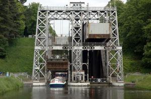 Hydraulische lift N°3-Strépy