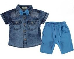 Летние детские костюмы на мальчика 1-12 лет