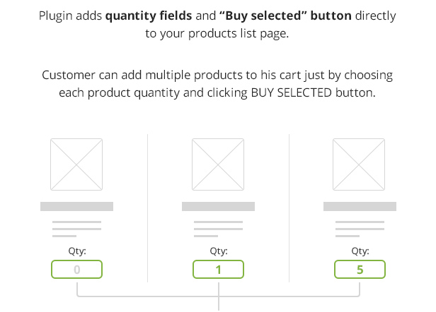 WooCommerce Buy Selected Button
