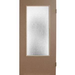 Оргалитовая дверь (со стеклом)