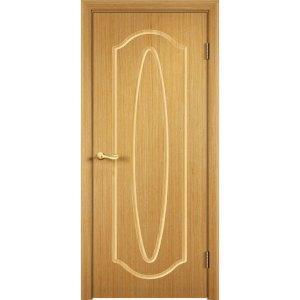 Шпонированная дверь Орбита (глухая, дуб)