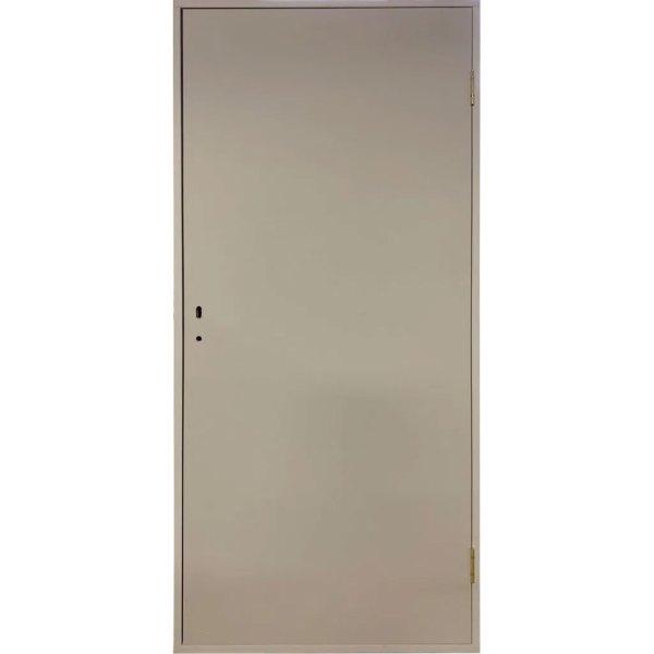 Оргалитовая крашеная дверь водно-дисперсионной (ВД) краской