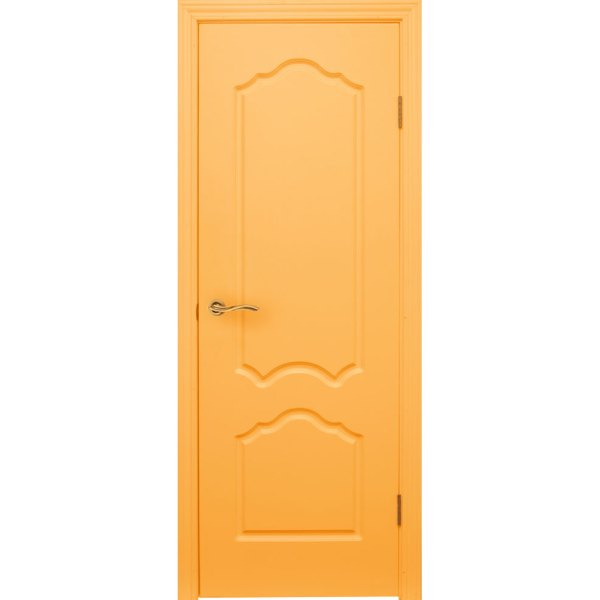 Крашеная дверь Каролина (глухая, RAL 1034)