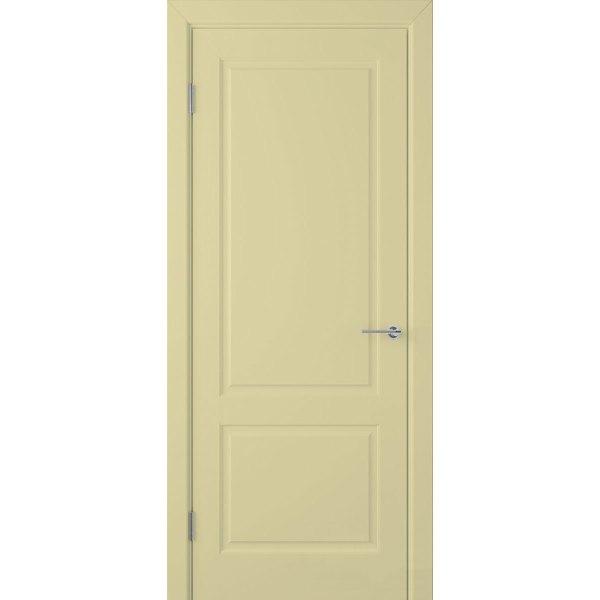 Крашеная дверь Евро 2 (глухая, RAL 1000)
