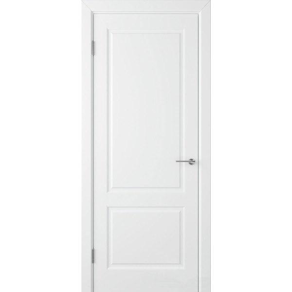 Крашеная дверь Евро 2 (глухая, RAL 9003)
