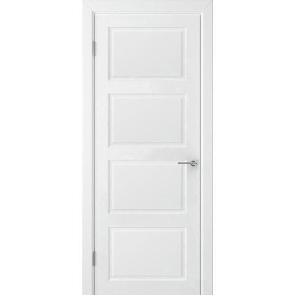 Крашеная дверь Евро 4 (глухая, RAL 9003)