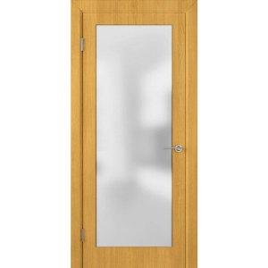 Шпонированная дверь Евро (ДО, дуб)