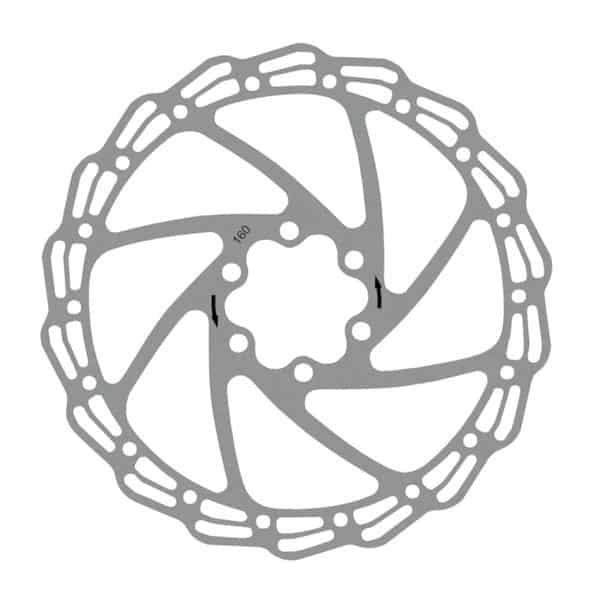 - Zavorni disk Extend 160 mm - OPTIBIKE