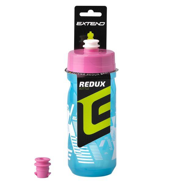 - Bidon Extend REDUX 600 ml (moder / roza) - OPTIBIKE