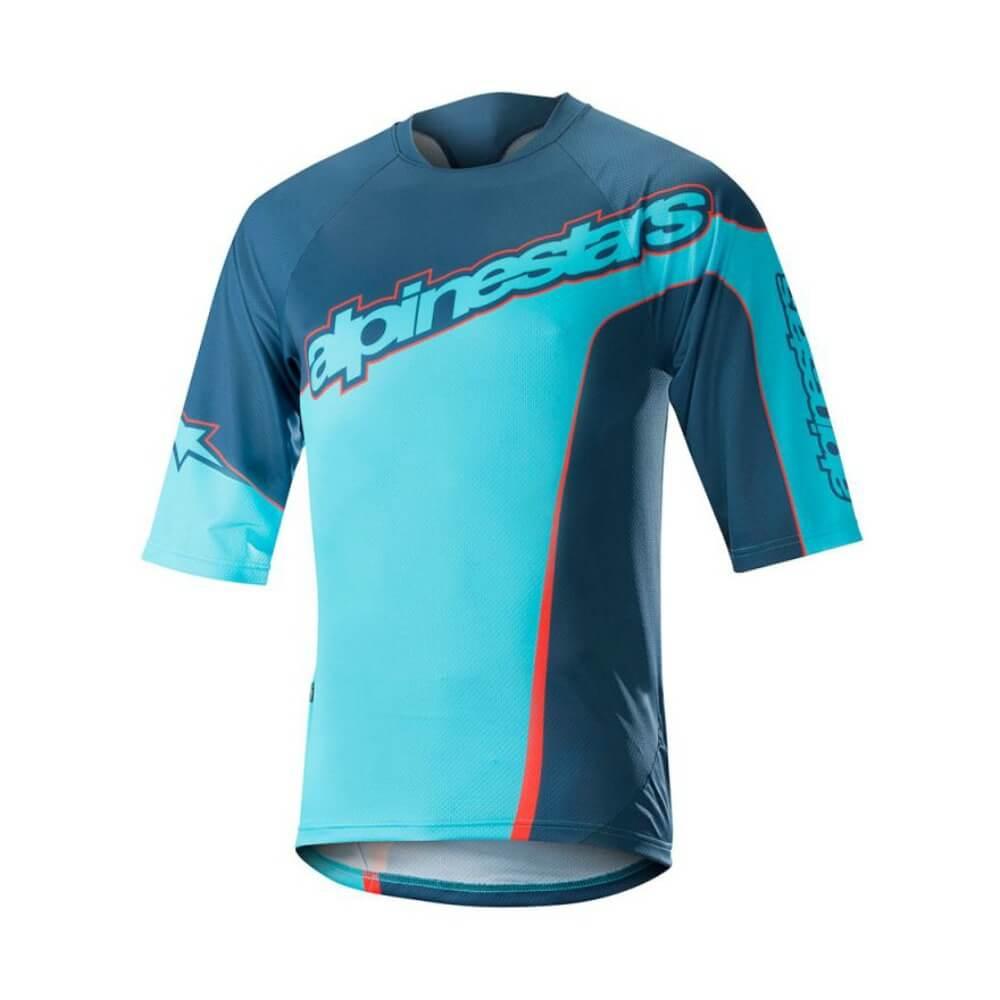 - 3/4 kolesarska majica Alpinestars Crest - OPTIBIKE