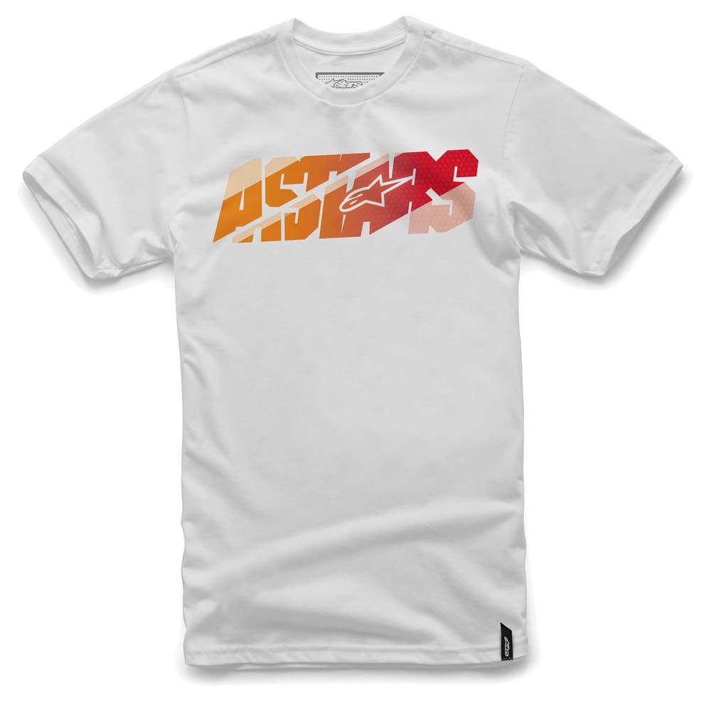 - Kratka majica Alpinestars Bars White - OPTIBIKE