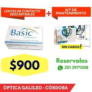 Basic Colours – Lentes de Contacto descartables color lentes de contacto descatables color basic cordoba