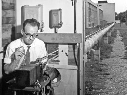 Ian Turner with Optical Pipe